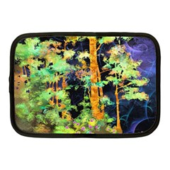Abstract Trees Flowers Landscape Netbook Case (Medium)