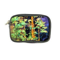 Abstract Trees Flowers Landscape Coin Purse