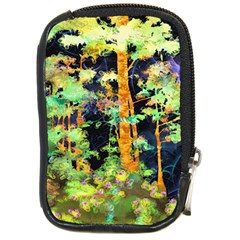 Abstract Trees Flowers Landscape Compact Camera Cases