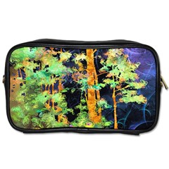 Abstract Trees Flowers Landscape Toiletries Bags