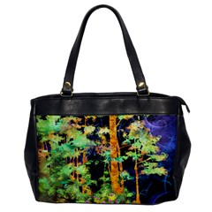 Abstract Trees Flowers Landscape Office Handbags