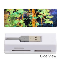 Abstract Trees Flowers Landscape Memory Card Reader (Stick)
