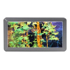 Abstract Trees Flowers Landscape Memory Card Reader (Mini)