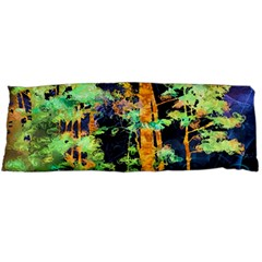 Abstract Trees Flowers Landscape Body Pillow Case Dakimakura (Two Sides)