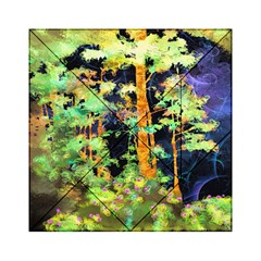 Abstract Trees Flowers Landscape Acrylic Tangram Puzzle (6  x 6 )