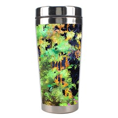 Abstract Trees Flowers Landscape Stainless Steel Travel Tumblers