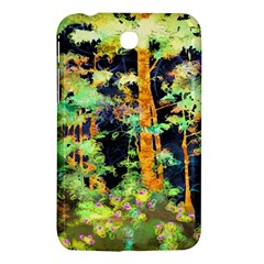 Abstract Trees Flowers Landscape Samsung Galaxy Tab 3 (7 ) P3200 Hardshell Case
