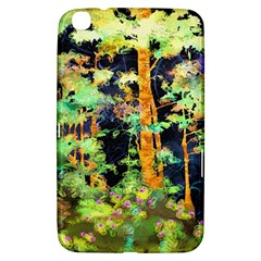 Abstract Trees Flowers Landscape Samsung Galaxy Tab 3 (8 ) T3100 Hardshell Case