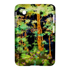 Abstract Trees Flowers Landscape Samsung Galaxy Tab 2 (7 ) P3100 Hardshell Case