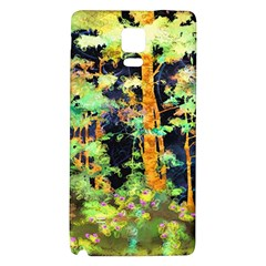 Abstract Trees Flowers Landscape Galaxy Note 4 Back Case