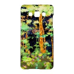 Abstract Trees Flowers Landscape Samsung Galaxy A5 Hardshell Case