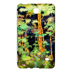 Abstract Trees Flowers Landscape Samsung Galaxy Tab 4 (8 ) Hardshell Case