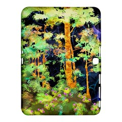 Abstract Trees Flowers Landscape Samsung Galaxy Tab 4 (10.1 ) Hardshell Case
