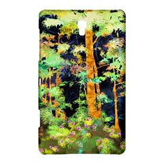 Abstract Trees Flowers Landscape Samsung Galaxy Tab S (8.4 ) Hardshell Case