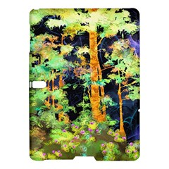Abstract Trees Flowers Landscape Samsung Galaxy Tab S (10 5 ) Hardshell Case