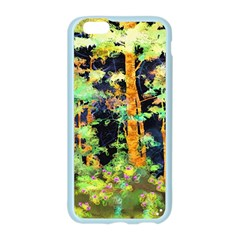 Abstract Trees Flowers Landscape Apple Seamless iPhone 6/6S Case (Color)