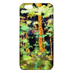 Abstract Trees Flowers Landscape iPhone 6 Plus/6S Plus TPU Case