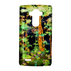 Abstract Trees Flowers Landscape LG G4 Hardshell Case