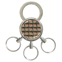 Advent Calendar Door Advent Pay 3-Ring Key Chains