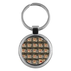 Advent Calendar Door Advent Pay Key Chains (Round)