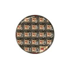 Advent Calendar Door Advent Pay Hat Clip Ball Marker (4 pack)