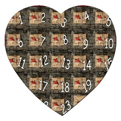 Advent Calendar Door Advent Pay Jigsaw Puzzle (Heart)