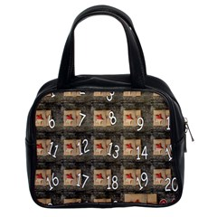 Advent Calendar Door Advent Pay Classic Handbags (2 Sides)