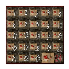 Advent Calendar Door Advent Pay Face Towel
