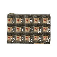 Advent Calendar Door Advent Pay Cosmetic Bag (Large)