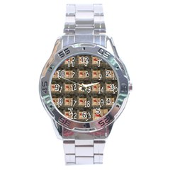 Advent Calendar Door Advent Pay Stainless Steel Analogue Watch