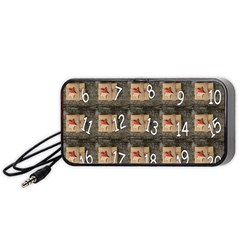 Advent Calendar Door Advent Pay Portable Speaker (Black)