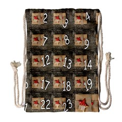 Advent Calendar Door Advent Pay Drawstring Bag (large)