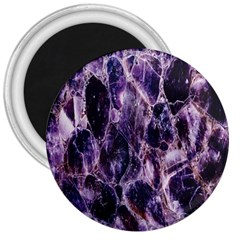 Agate Naturalpurple Stone 3  Magnets