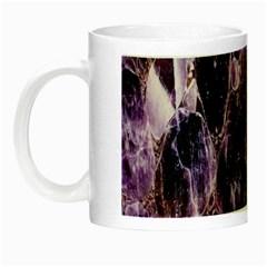 Agate Naturalpurple Stone Night Luminous Mugs