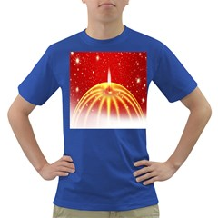 Advent Candle Star Christmas Dark T-Shirt