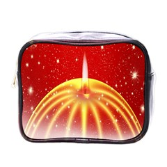 Advent Candle Star Christmas Mini Toiletries Bags