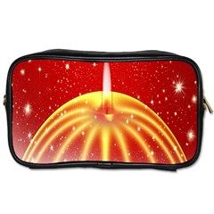Advent Candle Star Christmas Toiletries Bags 2-Side