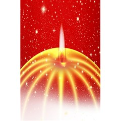 Advent Candle Star Christmas 5.5  x 8.5  Notebooks