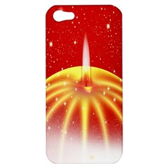 Advent Candle Star Christmas Apple iPhone 5 Hardshell Case