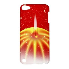 Advent Candle Star Christmas Apple iPod Touch 5 Hardshell Case