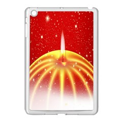 Advent Candle Star Christmas Apple iPad Mini Case (White)