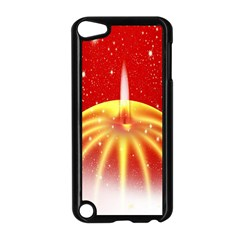 Advent Candle Star Christmas Apple iPod Touch 5 Case (Black)