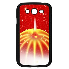 Advent Candle Star Christmas Samsung Galaxy Grand DUOS I9082 Case (Black)