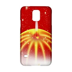 Advent Candle Star Christmas Samsung Galaxy S5 Hardshell Case