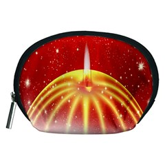 Advent Candle Star Christmas Accessory Pouches (medium)