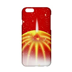 Advent Candle Star Christmas Apple iPhone 6/6S Hardshell Case