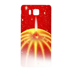 Advent Candle Star Christmas Samsung Galaxy Alpha Hardshell Back Case