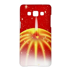Advent Candle Star Christmas Samsung Galaxy A5 Hardshell Case