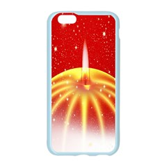 Advent Candle Star Christmas Apple Seamless iPhone 6/6S Case (Color)