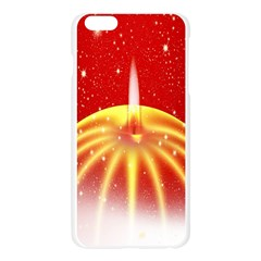 Advent Candle Star Christmas Apple Seamless iPhone 6 Plus/6S Plus Case (Transparent)